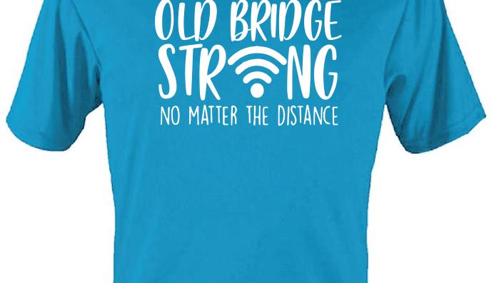 Electric Blue Dri Fit Active T-Shirt - Virtual Design