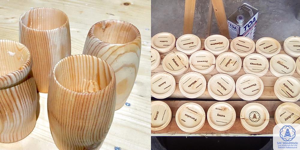 ไม้สน ไม้สนนอก ไม้สนรัสเซีย DIY งานไม้ เฟอร์นิเจอร์ ไม้แปรรูป ไม้สนแปรรูป SAK WoodWorks Upuzzle