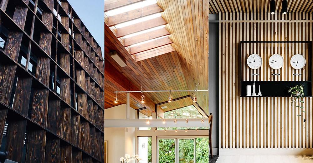 ระแนง ไม้ระแนง ไม้สน ไม้สนนอก ไม้สนรัสเซีย SAK WoodWorks แต่งบ้าน สร้างบ้าน