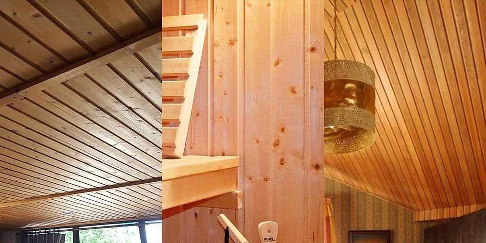 ไม้สน ไม้สนนอก ไม้สนรัสเซีย ไม้ฝา SAK WoodWorks รางลิ้น ไม้ฝาสน
