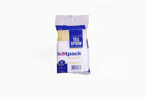 Hotpack-plastic tea spoon-50pcs