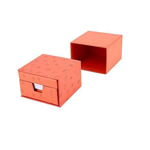 KALMAR - Memo/Calendar Cube - Orange