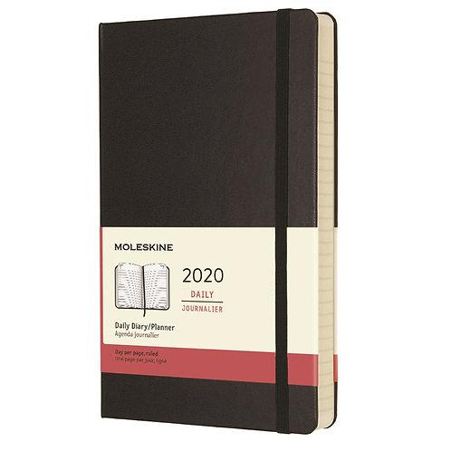 Moleskine 2020 Daily Planner - Hard Cover