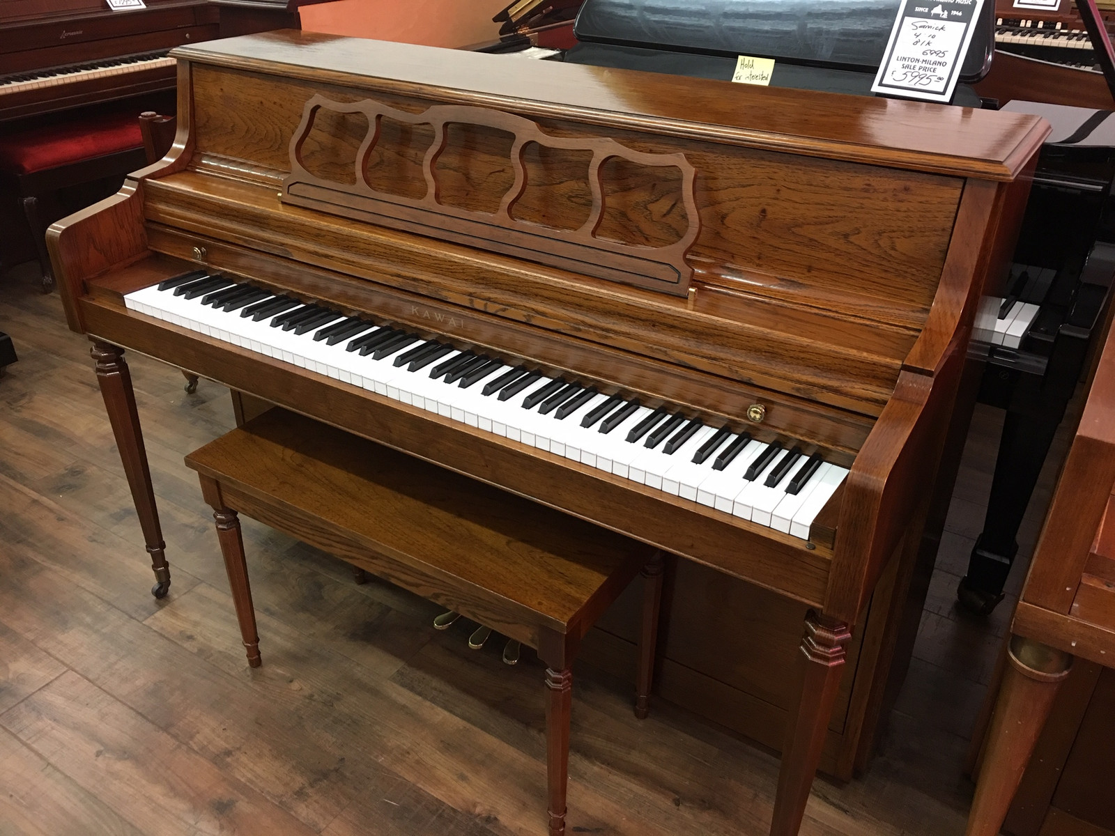 Kawai USA Console Piano