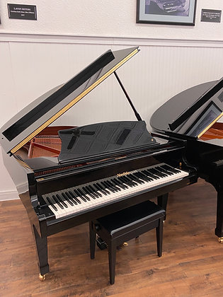 "Hallet Davis 5'7"" Grand Piano - Model GP 170 - Polished Black"