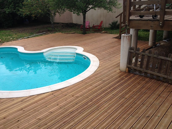 terrasse bois, terrasse composite