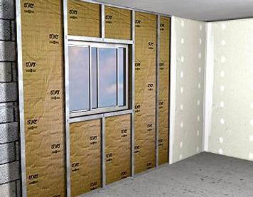 Isolation des murs intérieurs étapes
