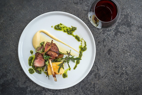 6 Course lunch with paired wines for one person