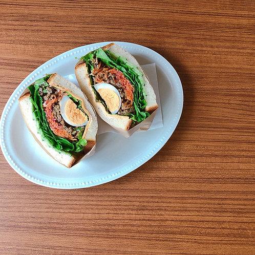 K.BaseRoasteryLab.:ファミリーサンドイッチセット【3,000円コース、飲食店支援】