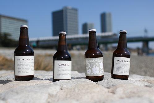 ふたこビール【3,000円コース、ビール事業者支援】