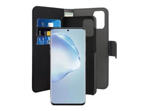 Puro Wallet Magnet Galaxy S20+, Sort