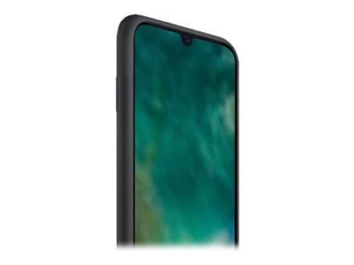 Xqisit Silikon Case Galaxy A41, Black