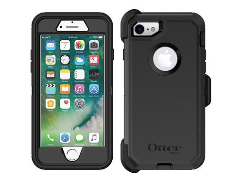 Otterbox Defender iPhone SE/8/7, Black