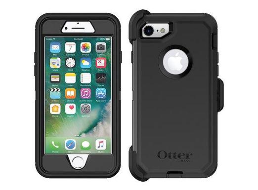 Otterbox Defender iPhone SE/8/7, Black