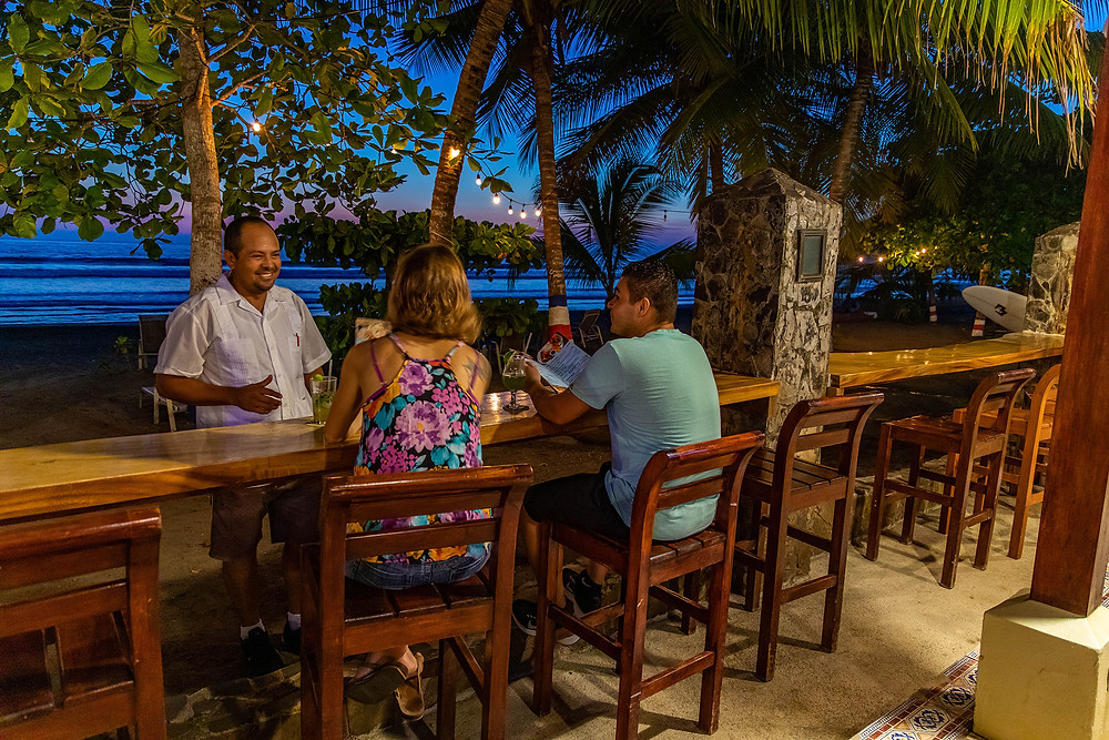 Beach Front VIP Bachelor Party Dining -