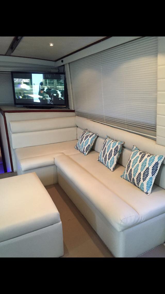 Luxury Interior Party Boat Jaco Beach Costa Rica