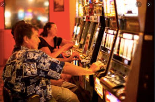 Slot Machines at Casino in Jaco Beach