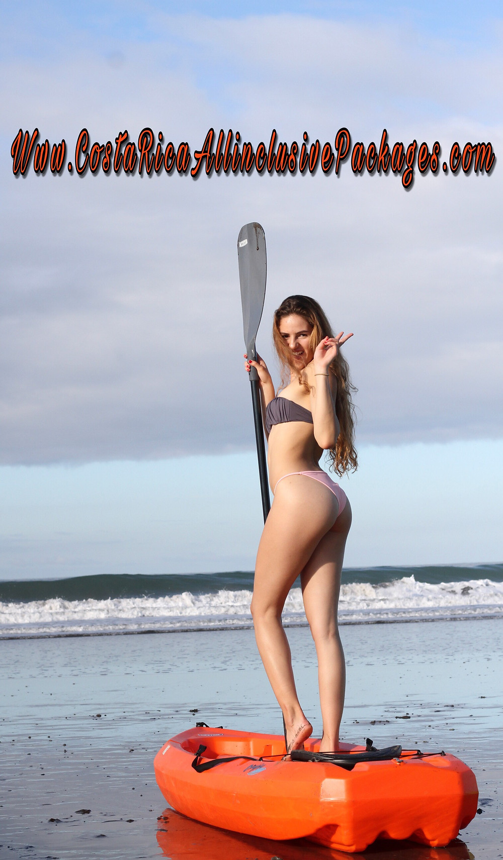 Costa Rica Top Model Jaco Beach Kayak