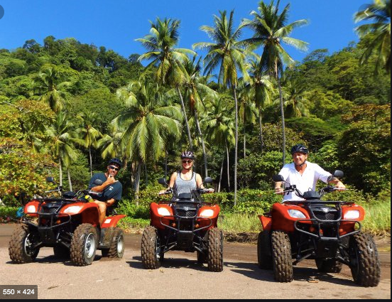 atv tours bachelor party jaco beach