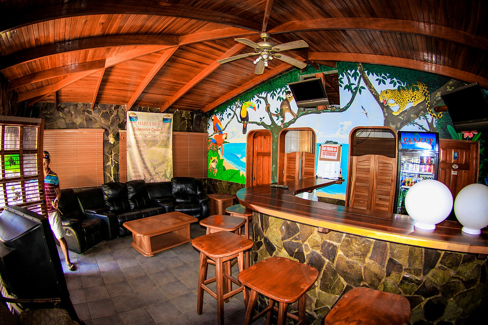 Private Bar at Jaco Beach Rental
