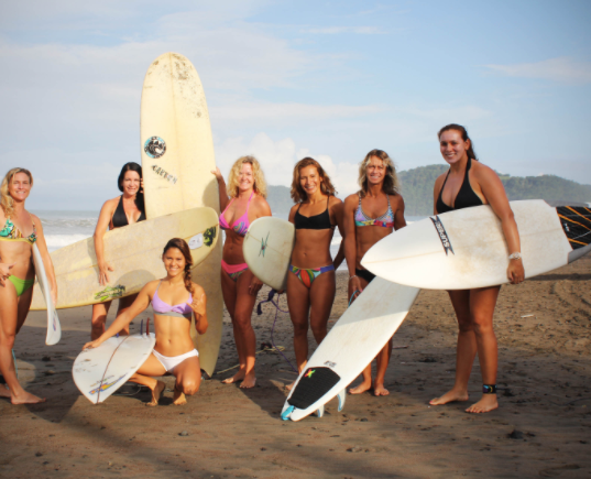 Girls Only Camp and Lessons - Jaco Beach