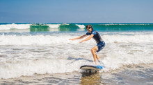 Surfing and Surf Lessons in Jaco Beach, Costa Rica...