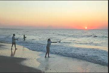 Beach Surf Fishing Jaco Beach Costa Rica 3