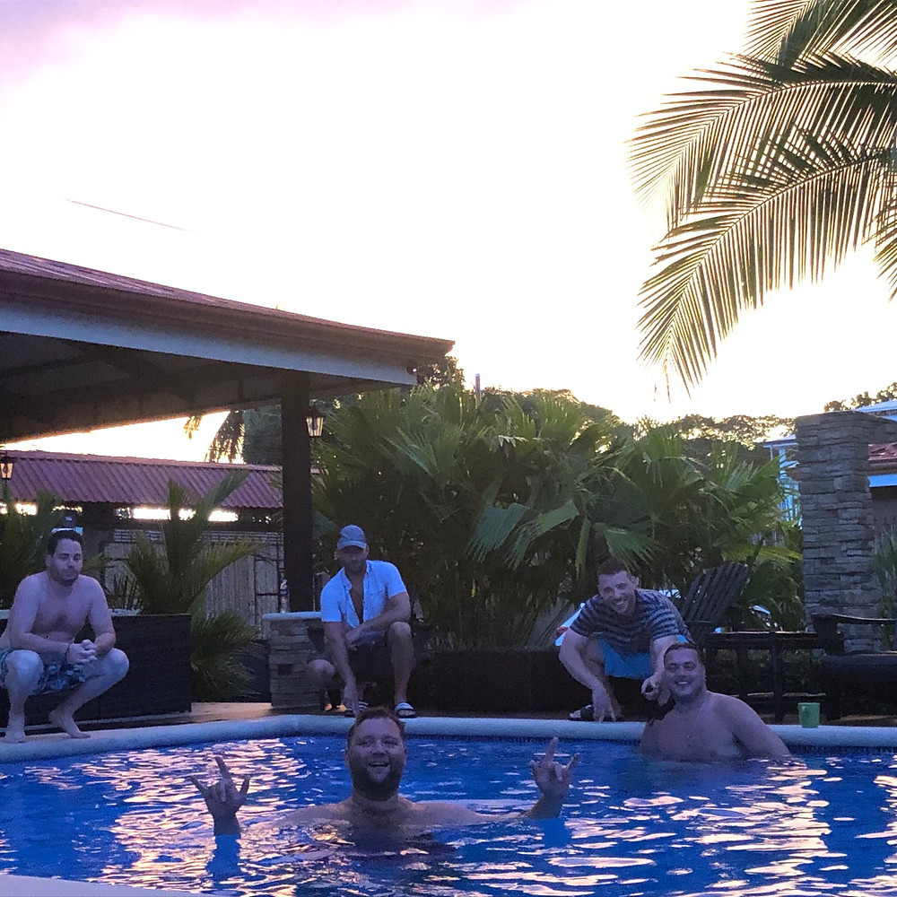Bachelor Party Boys - Jaco Beach