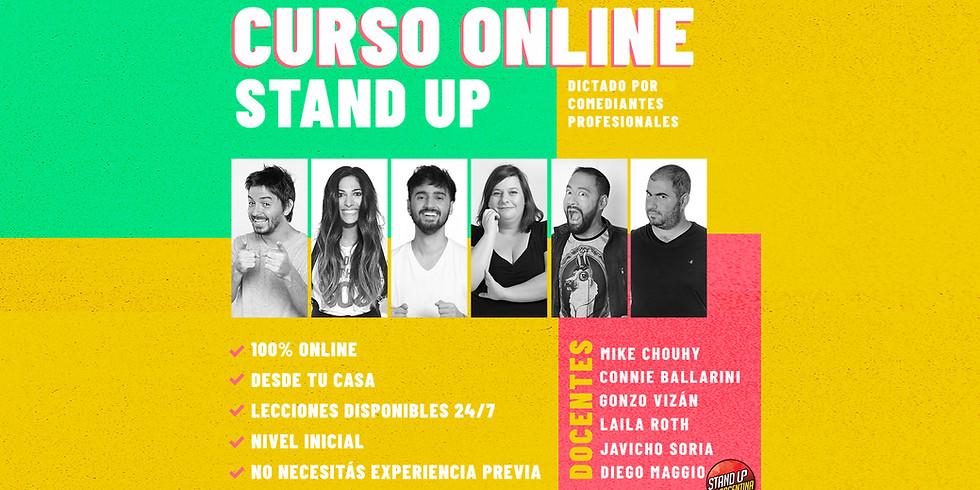 Curso online de stand up