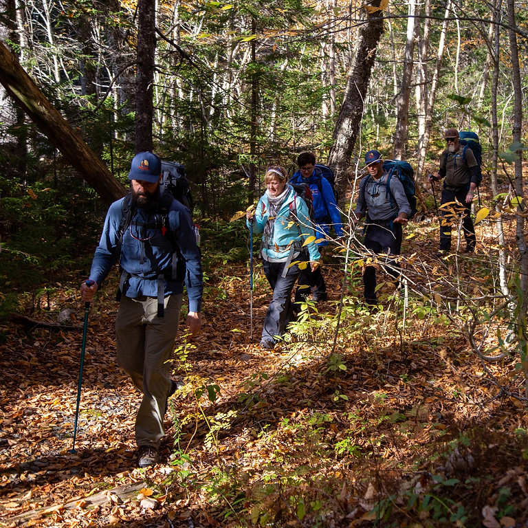Backpacking the Fundy Footpath (5 DAY): JULY 4 - 8, 2021