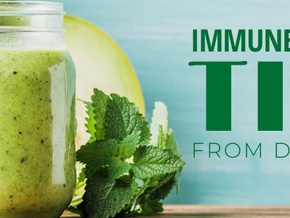 No April Fools here ... Try these tips to spring forward & boost your immunity