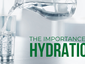 Just Add Water 💦 Why Hydration is so Important