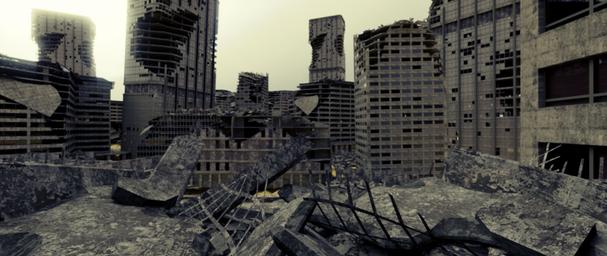 A dead city