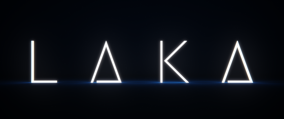 LAKA Official Theatrical Logo Dark Versi