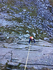 Private climbing guiding