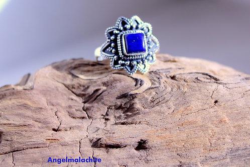 Bague femme, Bague Lapis Lazuli, Lapis Lazuli, Pierre de sagesse