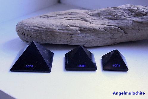 Shungite, pyramide shungite, EMF, protection, neutralise les ondes