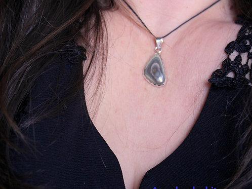 Collier femme, collier jaspe, jaspe impérial, Apaisement, Pierre d'ancrage