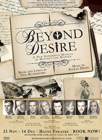 Beyond Design Original Producton Poster