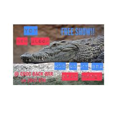 Crocodile Backbar 7/8