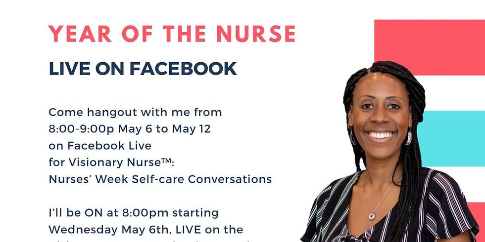 Visionary Nurse™️: Nurses Week Self-care Conversations
