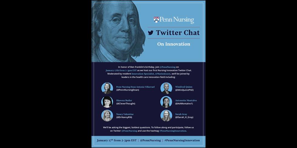 Penn Nursing Twitter Chat on Innovation