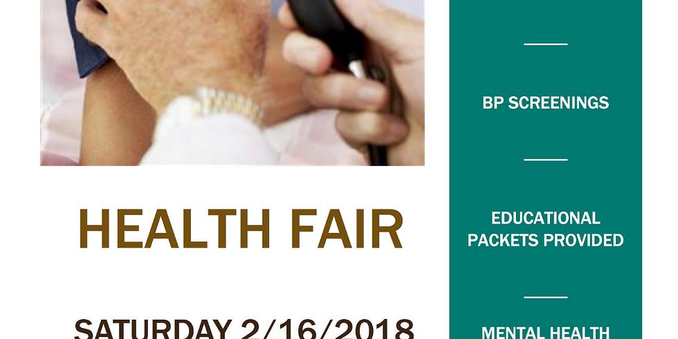 Let's Be Healthy! - Local Health Fair