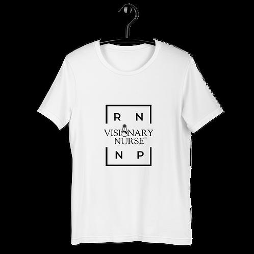 RN / NP / VN Short-Sleeve Unisex Light w/Blk T-Shirt