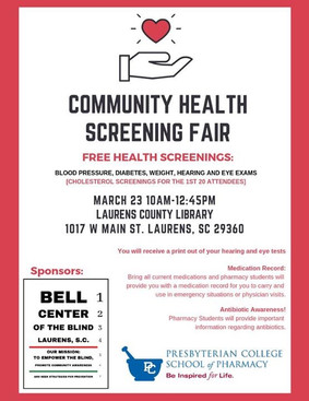 Community Health Screening Fair