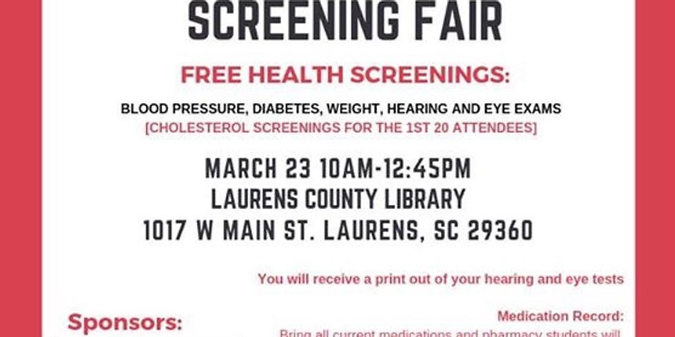 Health Screening Fair