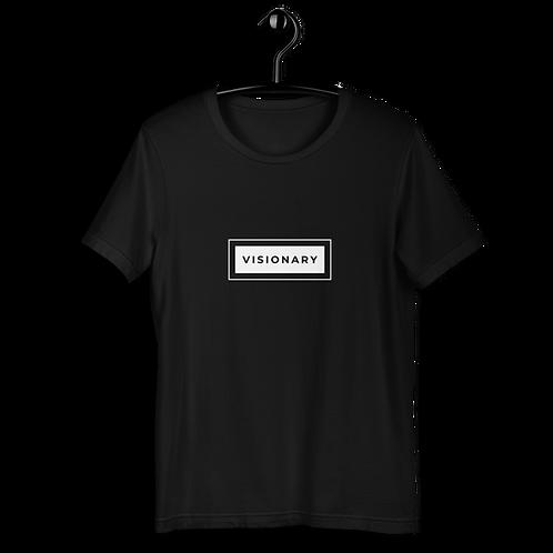 Visionary Short-Sleeve Unisex Dark T-Shirt