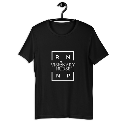 RN / NP / VN Short-Sleeve Unisex Dark T-Shirt