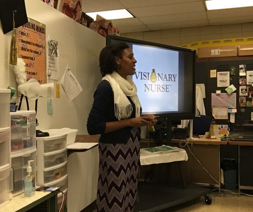Visionary Nurse Tour Stop / Laurens High School, South Carolina