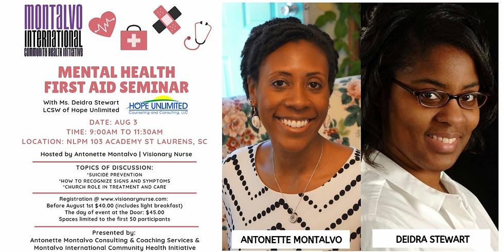 Mental Health 1st Aid Seminar